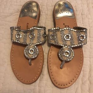 Never been worn Jack Roger sandals